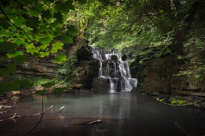images of South Wales - Neath Abbey Waterfall