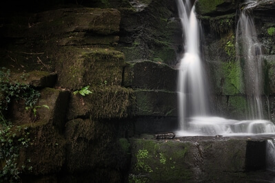 pictures of South Wales - Neath Abbey Waterfall
