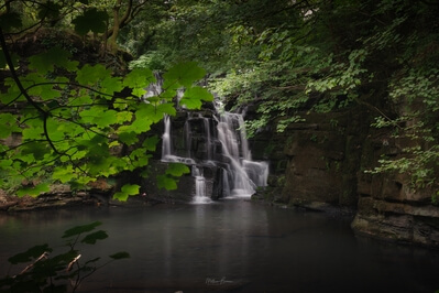 photos of South Wales - Neath Abbey Waterfall