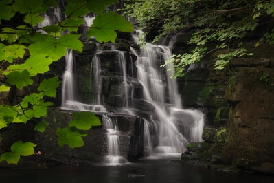 photo spots in South Wales - Neath Abbey Waterfall