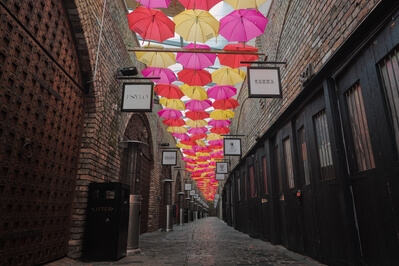 photos of London - Camden Market Umbrellas
