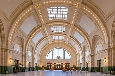 photography locations in King County - Union Station - Interior