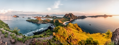 Indonesia photography locations - Padar Island Viewpoint