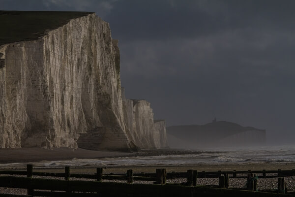 The Seven Sisters at Cuckmere on the Sussex coast