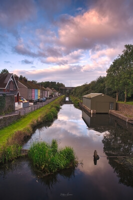 photo spots in South Wales - Tennant Canal at Aberdulais