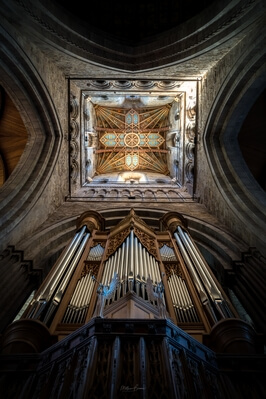 photography spots in South Wales - St David's Cathedral - Interior