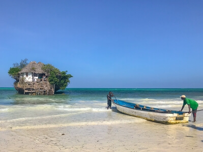 Zanzibar Island photography guide - The Rock Restaurant