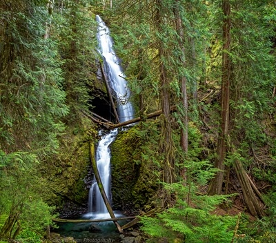 Olympic National Park photography guide - Murhut Falls