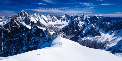 photography locations in France - Aiguille du Midi