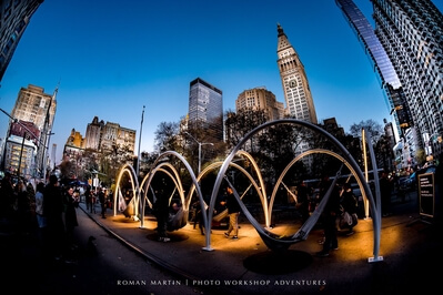 photography spots in New York - Flatiron Plaza