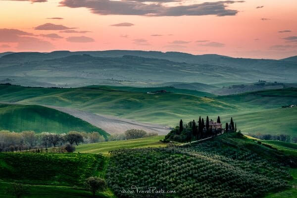 One of the most beautiful views in all of Tuscany