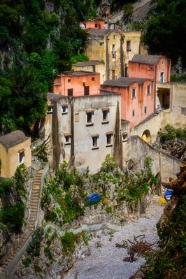 photography locations in Naples & the Amalfi Coast - Furore  Fjord
