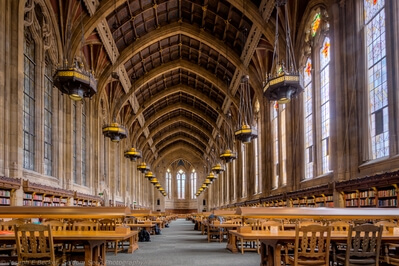 photography spots in King County - Suzzallo Library - Interior