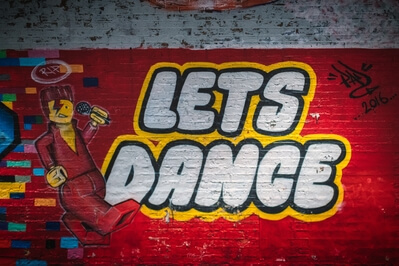 pictures of London - Leake Street Graffiti Tunnel