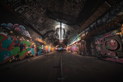 photos of London - Leake Street Graffiti Tunnel