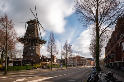 photo locations in Netherlands - De Gooyer windmill