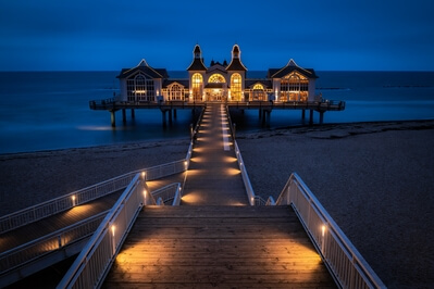 photography locations in Germany - Sellin Pier