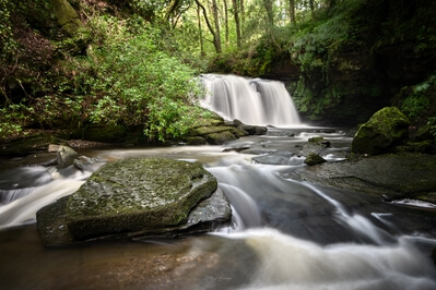 photography locations in South Wales - Cwm Du Glen