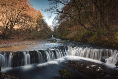 photos of South Wales - Pontneddfechan - Four Waterfall Walk