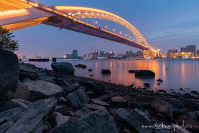 photo spots in Shanghai - Lupu Bridge