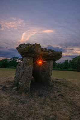 photography spots in South Wales - St Lythan's Burial Chamber