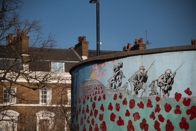 images of London - Stockwell War Memorial