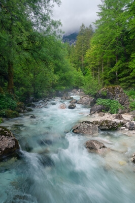 images of Triglav National Park - Zadnjica Valley