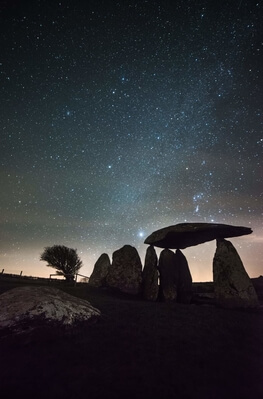 pictures of South Wales - Pentre Ifan Burial Chamber