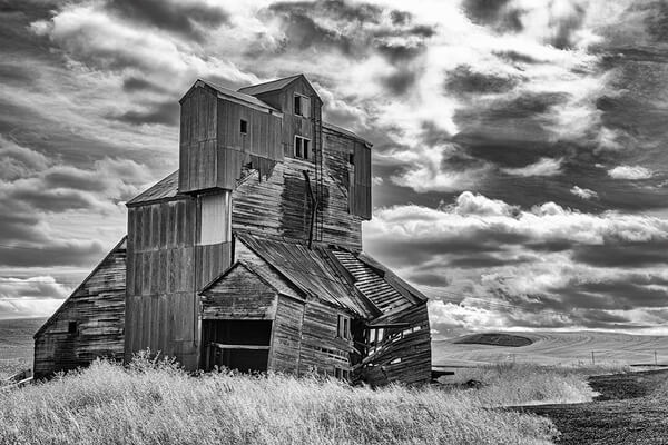 Old Grain Elevator, Hwy 195, Palouse Country