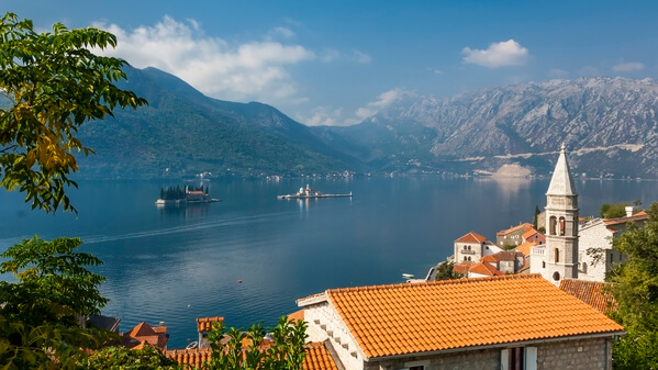 Another view of the Bay of Kotor at Perast.