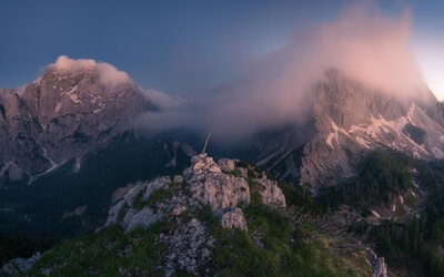 photography locations in Triglav National Park - Prednje Robičje