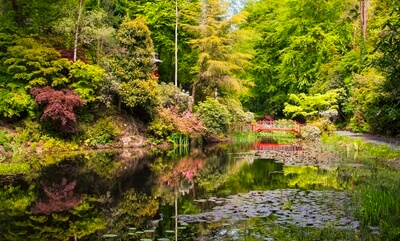 North Wales photo locations - Portmeirion Lakes