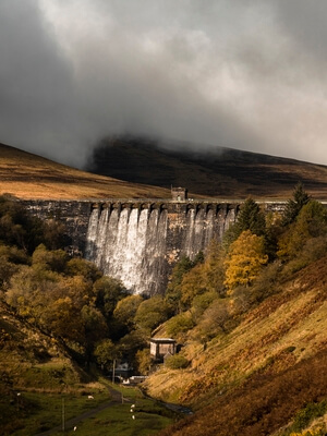 South Wales photo spots - Grwyne Fawr Reservoir