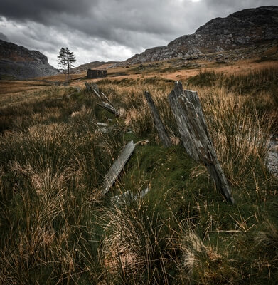 photo locations in North Wales - Cwmorthin Slate Quarry