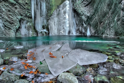 images of Soča River Valley - Kozjak Waterfall