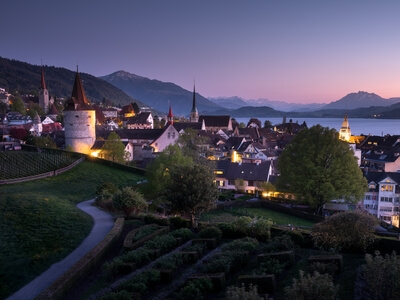 Zug photography spots - Zug Oldtown View