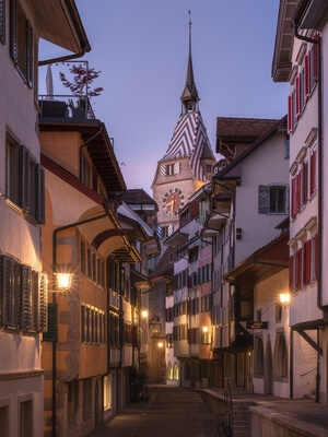 Switzerland photography locations - Zug Oldtown