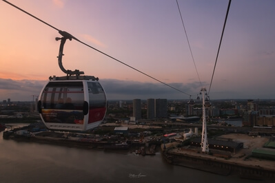 pictures of London - Emirates Cable Car