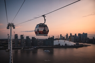 photos of London - Emirates Cable Car