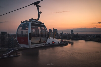 images of London - Emirates Cable Car