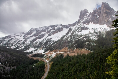 pictures of North Cascades - Washington Pass Overlook