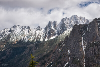 images of North Cascades - Washington Pass Overlook