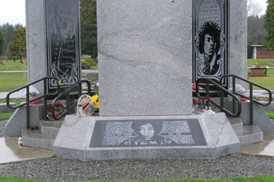 King County instagram locations - Jimi Hendrix Memorial