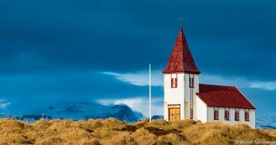 Iceland photography locations - Hellnar Church