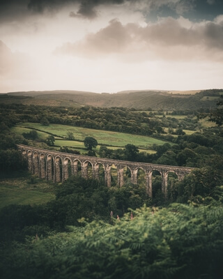 instagram locations in Carmarthenshire - Cynghordy Viaduct West Viewpoint
