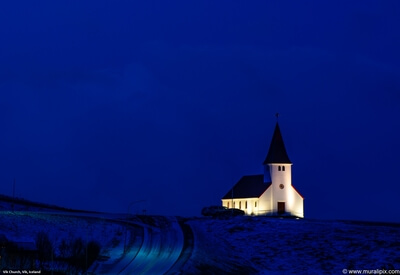 photo spots in Iceland - Vik Church