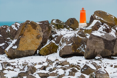 Cute but lesser known lighthouse near Keflavik airport