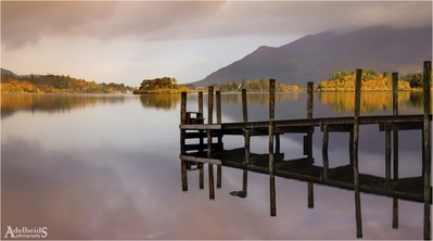 Photographing Lake District - Ashness Jetty, Lake District