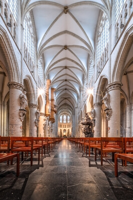 Brussels photography locations - St Michael and St Gudula Cathedral - Interior