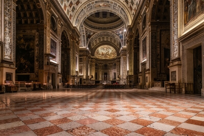 photo locations in Lombardia - Mantua Saint Andrew's Cathedral Interiors